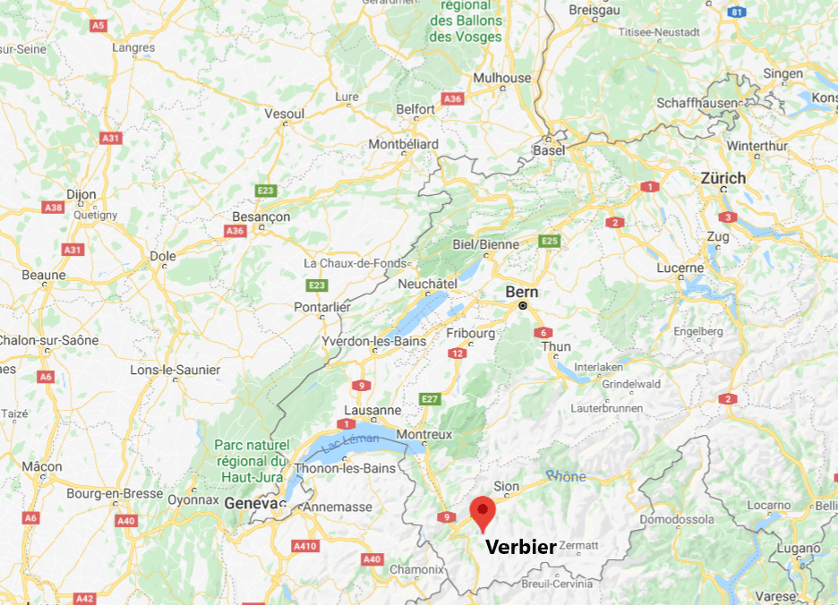 Verbier on Google Maps