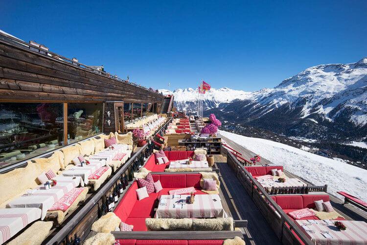 restaurant in St Moritz