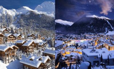 Davos comme alternative: avantages de Verbier comme votre choix de vacances